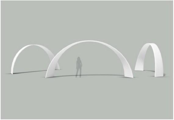 Arche décalée