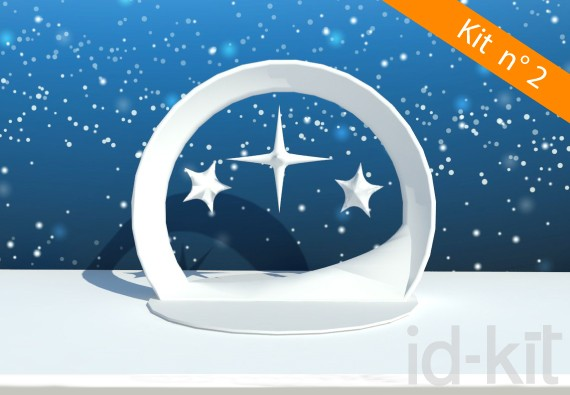 Kit n° 2 - Arche + Étoiles