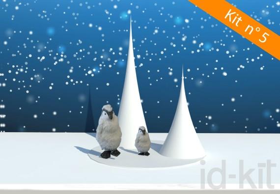 Kit n° 5 - Cônes + Pingouins